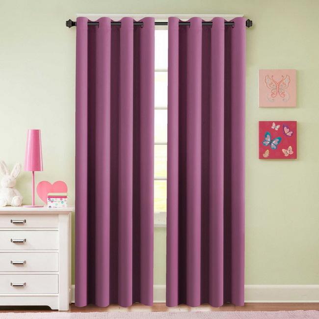 Rèm cửa phòng khách - Rèm cửa màu xanh - Mẫu rèm cửa chung cư cao cấp giá rẻ