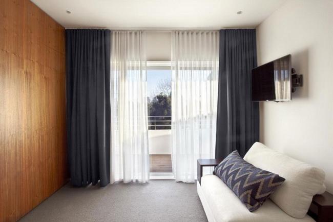 mẫu rèm cửa căn hộ cao cấp